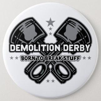 Demolición Derby llevado para romper la materia Chapa Redonda De 15 Cm