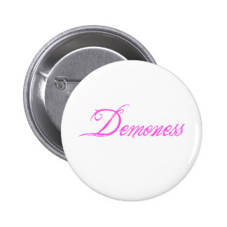 Demoness Chapa Redonda De 5 Cm
