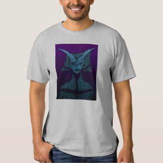 Demonio azul camiseta