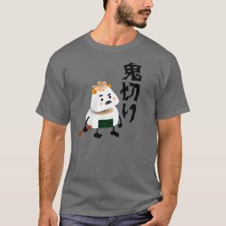 ¡Demonio de Onigiri (Oni) cortado (Giri) por la Camiseta