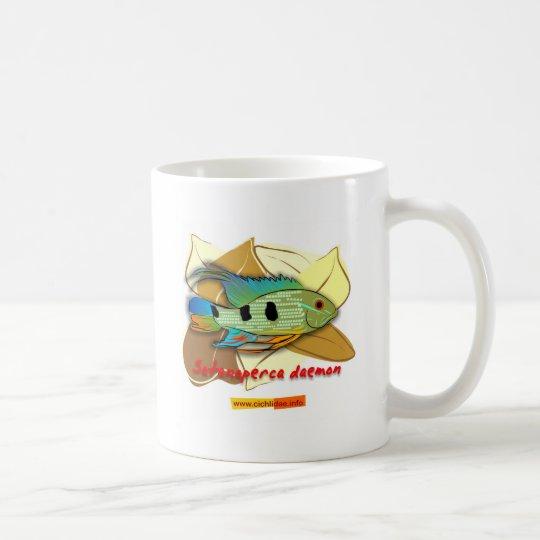 Demonio de Satanoperca Taza De Café