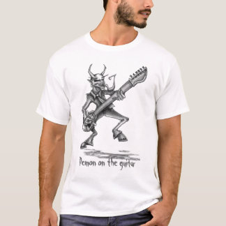 Demonio de Techstyles en la camiseta de la