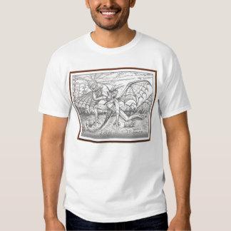 Demonio del arbolado camisetas