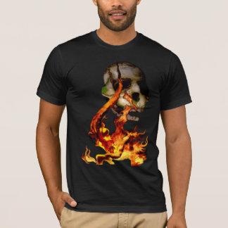 Demonio del fuego camiseta
