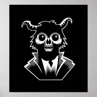 Demonio del mono impresiones