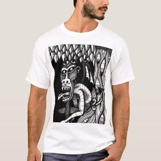 Demonio en un árbol camiseta