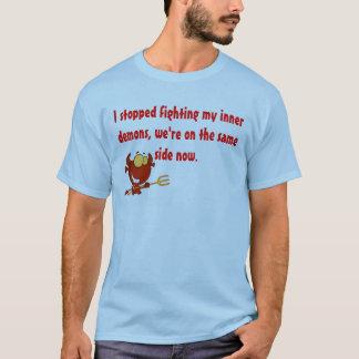 Demonio interno camiseta