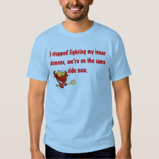 Demonio interno camisetas