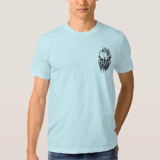 Demonio rasgado camiseta