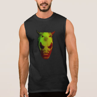 Demonio verde camiseta sin mangas