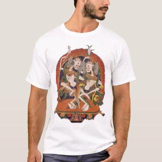 Demonios del tibetano del baile camiseta