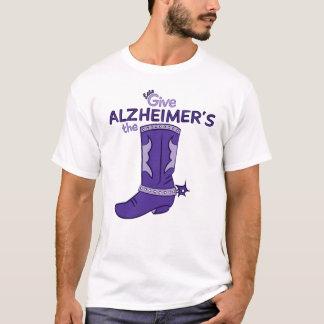 Demos la camisa de la bota #1 de Alzheimer