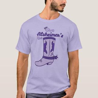 Demos la camisa de la bota #2 de Alzheimer