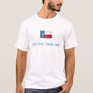 ¡Demos vuelta a Tejas azul! Camiseta