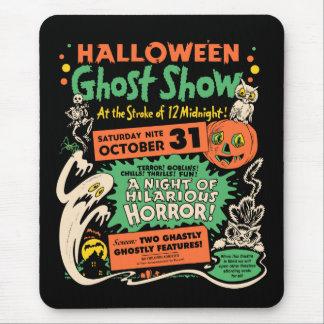 Demostración 1950 del fantasma de Halloween Alfombrilla De Ratón