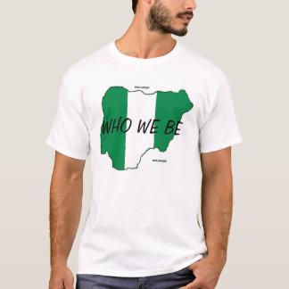 Demostración cultural de Naija Camiseta