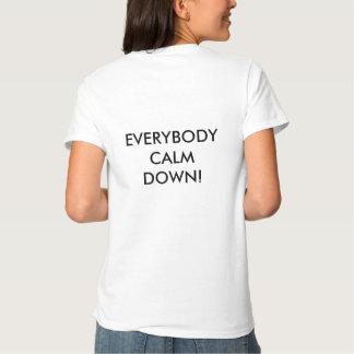 Demostración de Joe con el lema para las señoras Camiseta