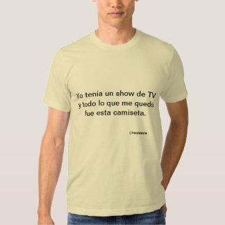 Demostración de la O.N.U de Yo Tenía Camiseta