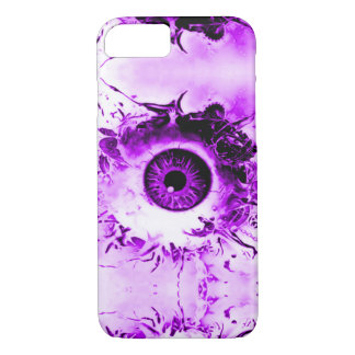 Demostración púrpura del horror del vigilante del funda iPhone 7