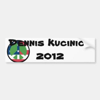 Dennis Kucinich 2012 Etiqueta De Parachoque