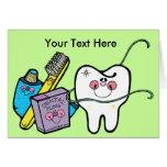 Dentista día 6 de marzo tarjeton