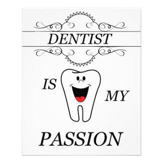 Dentista Folleto 11,4 X 14,2 Cm