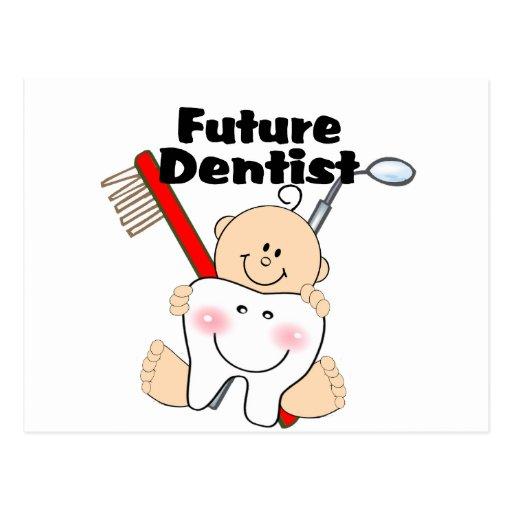 Dentista futuro tarjetas postales