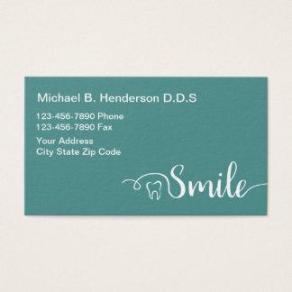Dentista moderno Businesscards Tarjeta De Negocios