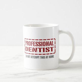 Dentista profesional taza de café