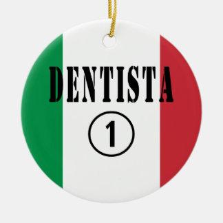 Dentistas italianos: Uno de Dentista Numero Ornaments Para Arbol De Navidad