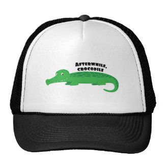 Dentro de poco cocodrilo gorra