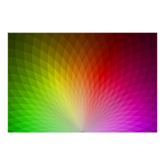 Dentro del arco iris (color 2) posters