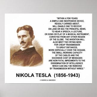 Dentro del dispositivo barato simple Tesla de Póster