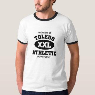 Departamento atlético de Toledo Camisetas