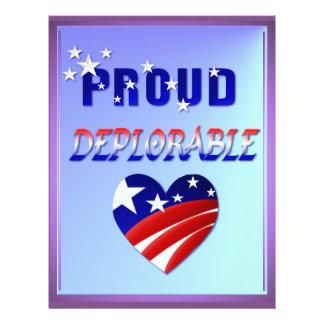 Deplorable-Amor ORGULLOSO América Flyer