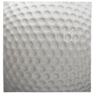 Deporte de la pelota de golf servilleta de tela
