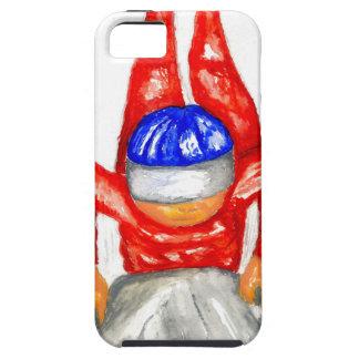 Deporte Watercolor2 del trineo Funda Para iPhone SE/5/5s