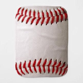 Deportes del béisbol paños para bebé