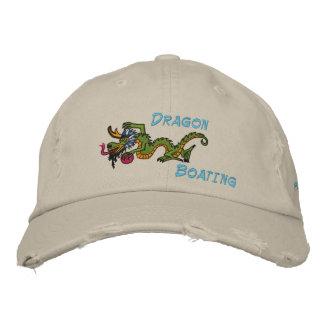 deportes del dragón del sol, dragón, canotaje gorra de béisbol bordada