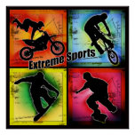 Deportes extremos poster
