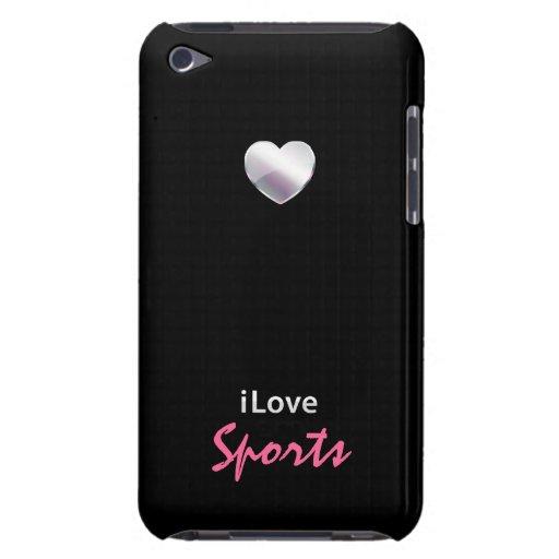 Deportes lindos iPod Case-Mate cárcasa
