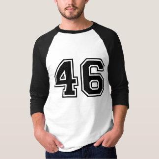 Deportes número 46 camiseta