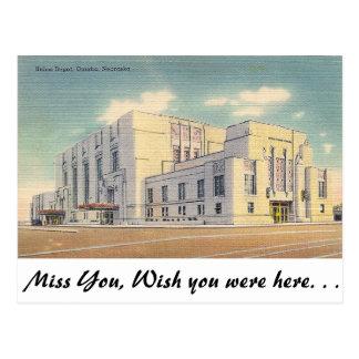 Depósito de la unión, Omaha, Nebraska Postal