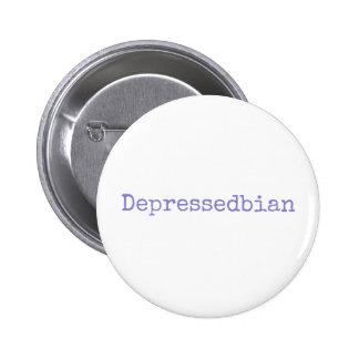 depressedbian chapa redonda de 5 cm