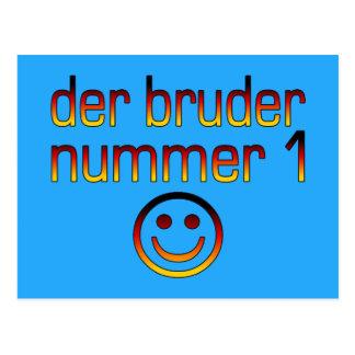 Der Bruder Nummer 1 número 1 Brother en alemán