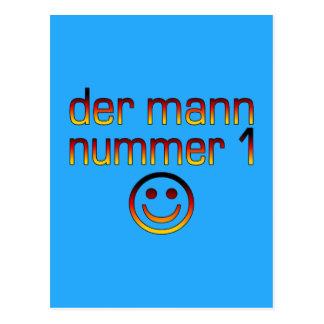Der Mann Nummer 1 - marido del número 1 en alemán