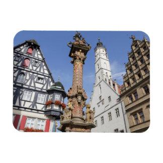 Der Tauber del ob de Rothenburg Imán Flexible
