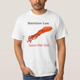 Derecho marítimo camiseta