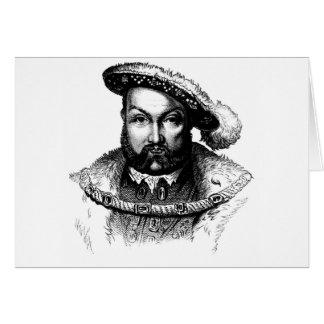 derechos medievales tarjeta de felicitación