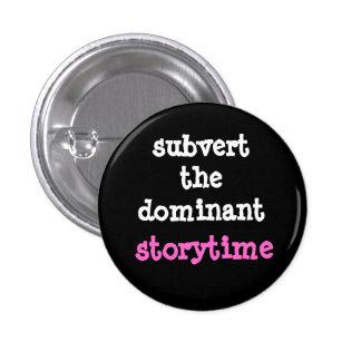Derribe el botón dominante de Storytime